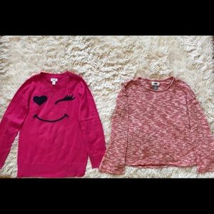 BUNDLE OF TWO SWEATERS FOR GIRLS AGED 10-12 YRS 💝